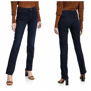7 FOR ALL MANKIND Straight Leg Blue Jeans